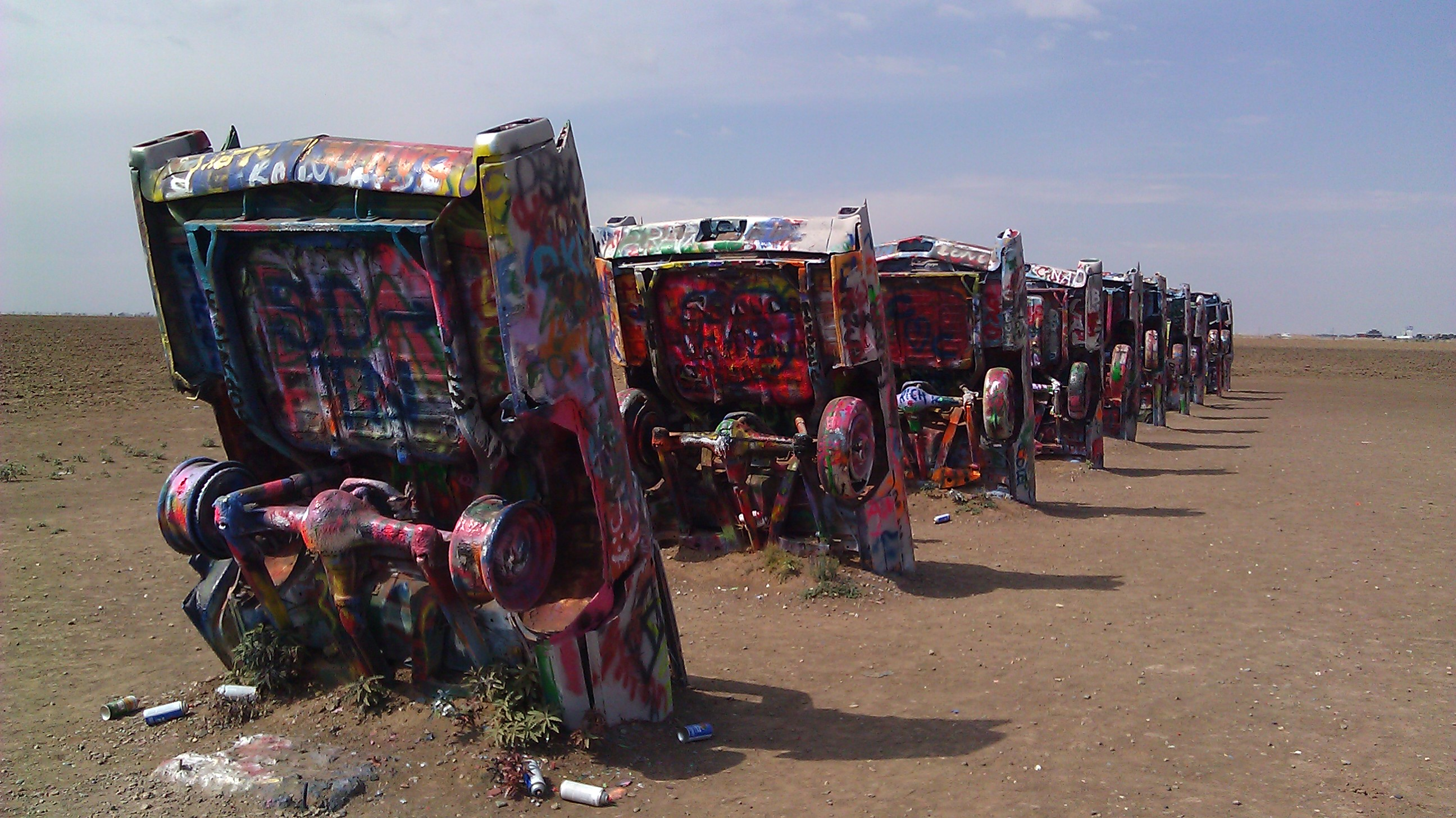 Road Trip! Wednesday, September 14, 2011-Cadillac Ranch | Roads Less Traveled